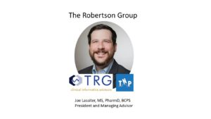 Joe Lassiter from The Robertson Group joins The Nontraditional Pharmacist to talk about pharmacy consulting, pharmacy informatics, and healthcare technology